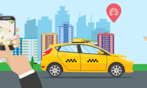 Taxi Apps Using GPS Tracking