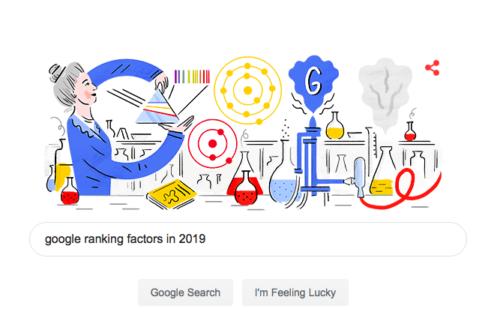 google ranking factors in 2019