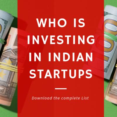 startup funding india