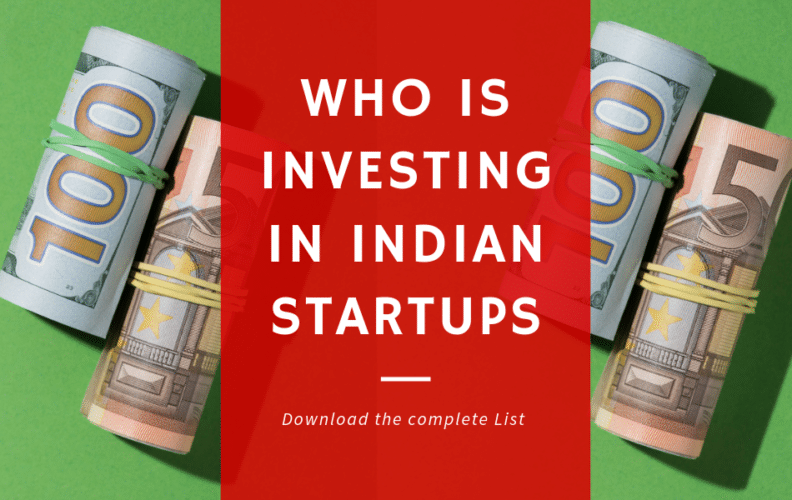 startup funding india